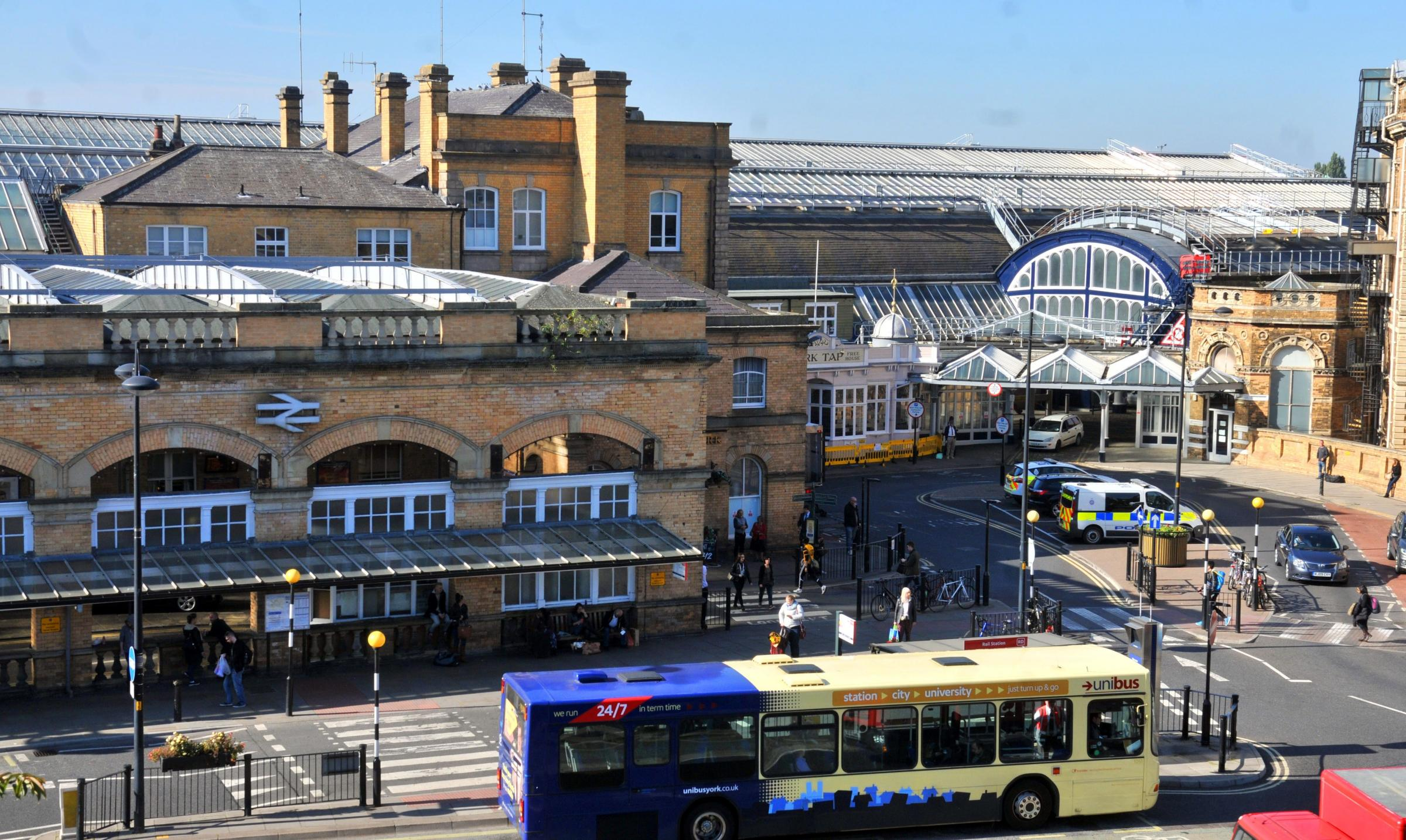 MAKEOVER: What we need at York railway station is a bus interchange, says the York Bus Forum              Picture: Nigel Holland