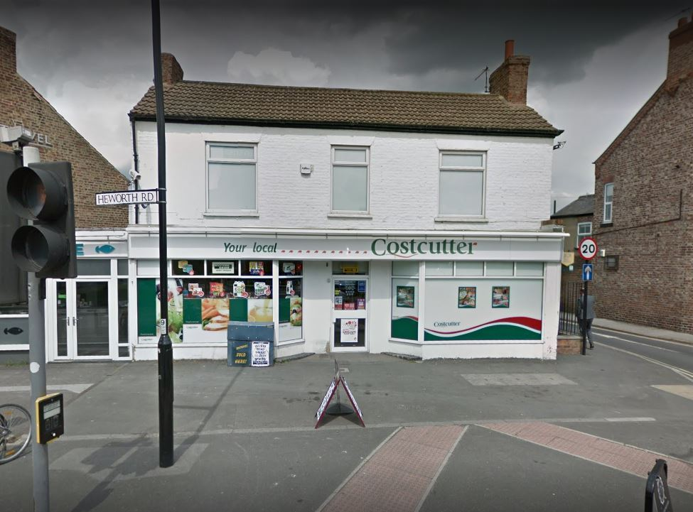 Suspected armed robber targets Costcutter in York