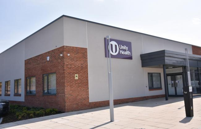 Unity Health Medical Centre , York  Picture Frank Dwyer