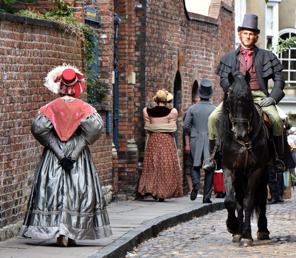 York filming for BBC TV drama, Gentleman Jack | York Press
