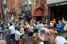 Cavern Club queue