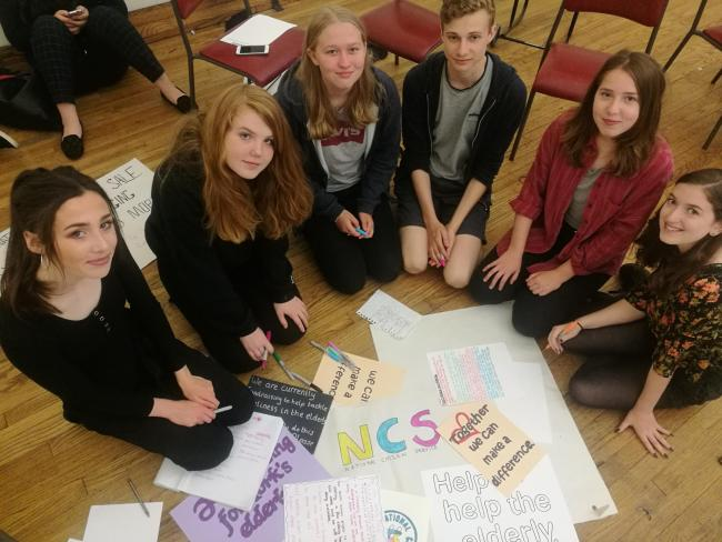 teenagers to help the elderly and sick in york york press