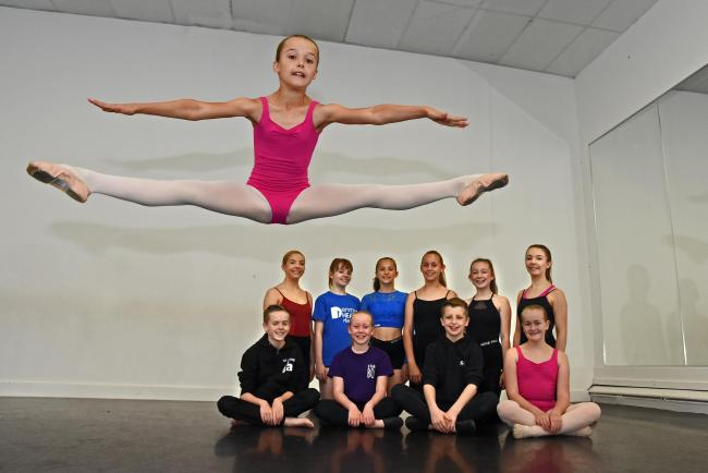 Youngsters Jump For Success At Dance Expression In Norton York Press