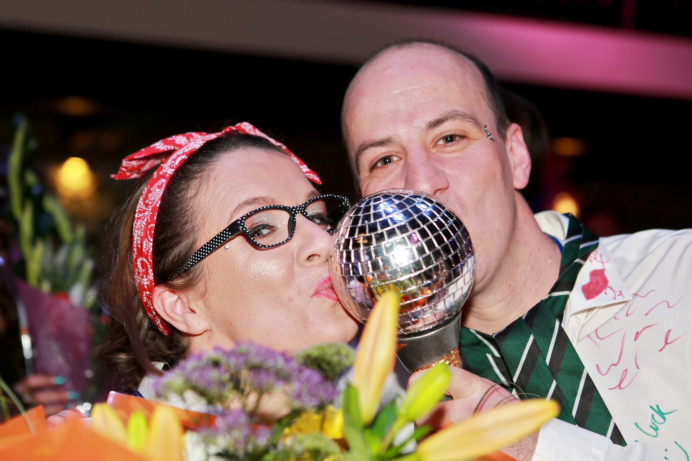 FLASHBACK: Martin House's Strictly Get Dancing 2017 winners Lee and Nicole Connor. Picture: Nikki Pix Photography