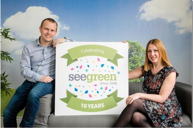 Dan and Anne Taylor, founders of See Green