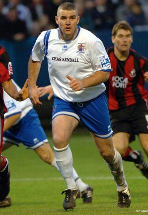 LEAD MAN: New signing Steve McNulty has been described as one of the