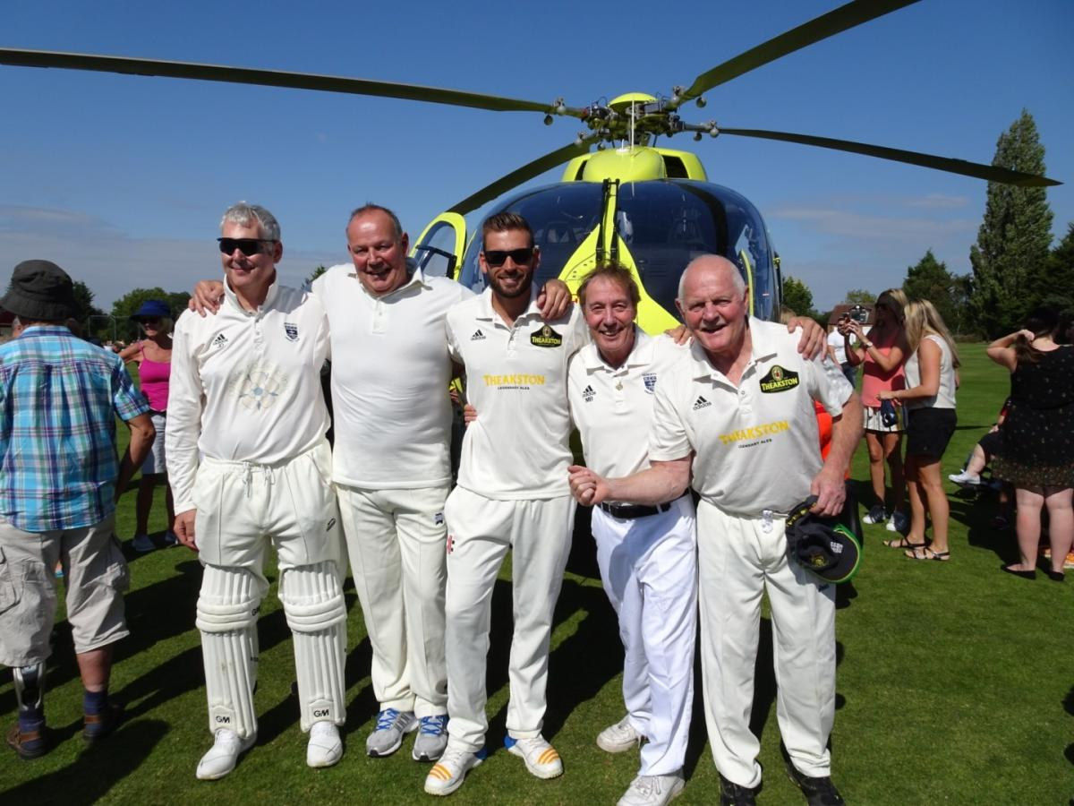 Emmerdale stars bowled over by charity cricket fundraiser | York Press