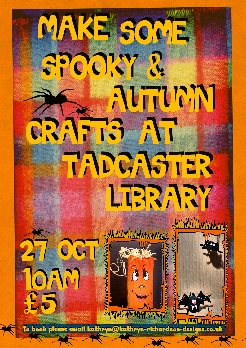 Spooky and autumn crafts