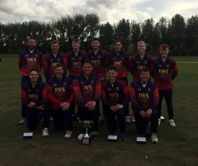 CUP KINGS: Woodhouse Grange with the Rudgate Brewery Cup