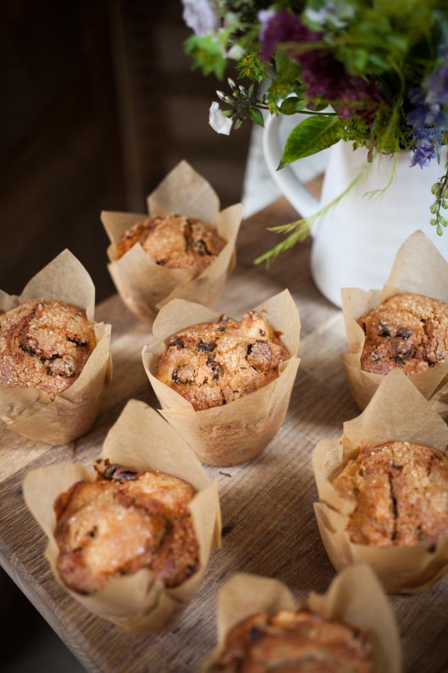 Sophie Smith's spiced apple muffins