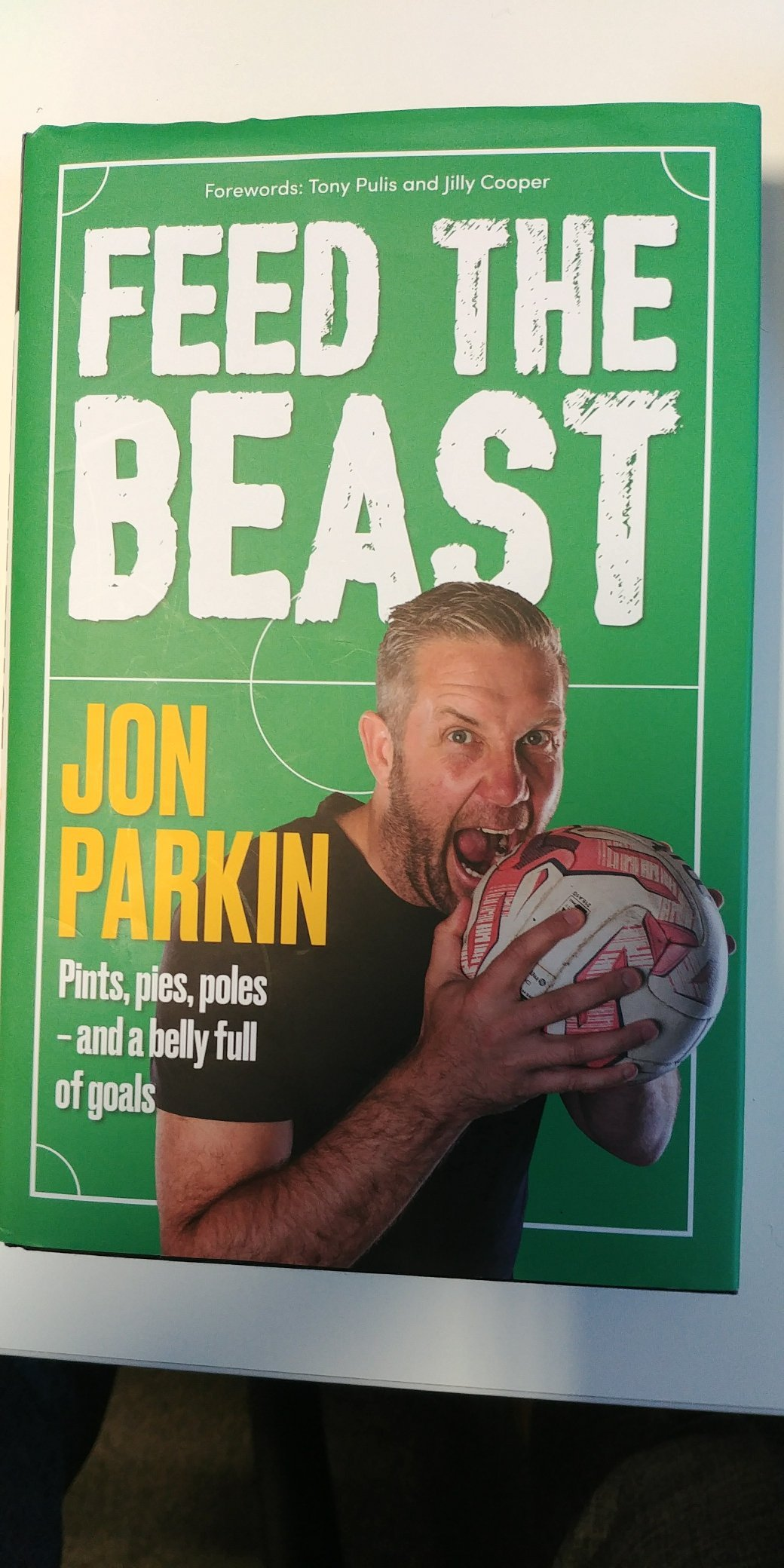 SINK YOUR TEETH INTO THIS: York City striker Jon Parkin's new book is attracting five-star reviews on Amazon and offers an honest and revealing insight into the life of a footballer with few punches pulled and plenty of laughs along the way