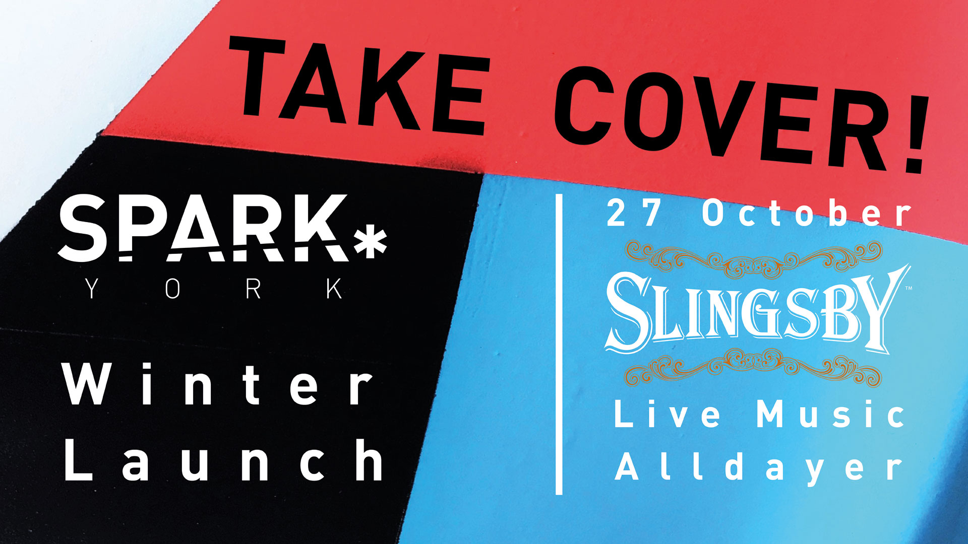 Take Cover! Live Music Day with Slingsby Gin