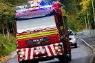 Microwave catches fire in flat in Malton