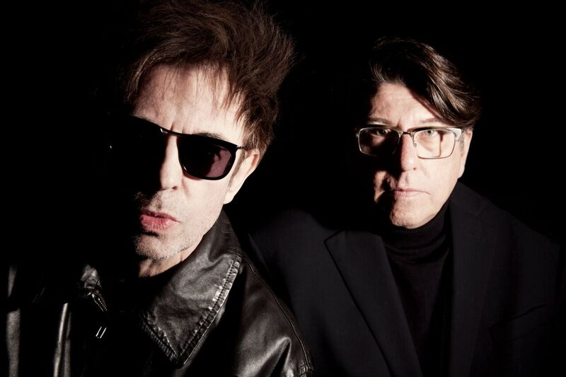 Echo & The Bunnymen's Ian McCulloch and Will Sergeant