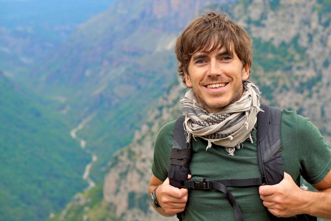 Adventurous: Simon Reeve on his first theatre tour
