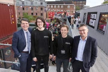 York Press Business Awards: City business venture that sparked into life