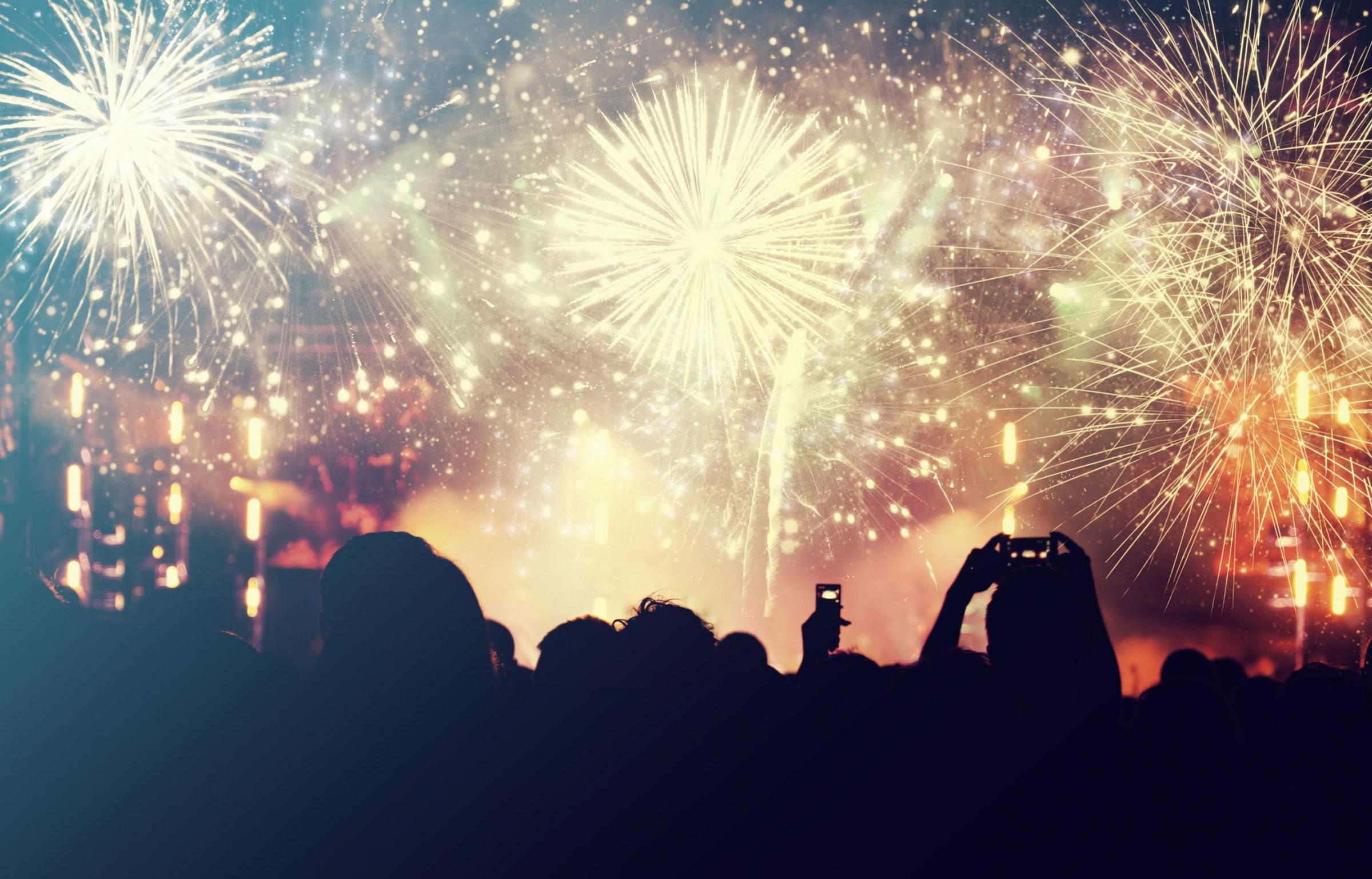 A Generic Photo of crowd watching firework display. See PA Feature TOPICAL Drink Bonfire Night. Picture credit should read: PA Photo/thinkstockphotos. WARNING: This picture must only be used to accompany PA Feature TOPICAL Drink Bonfire Night...