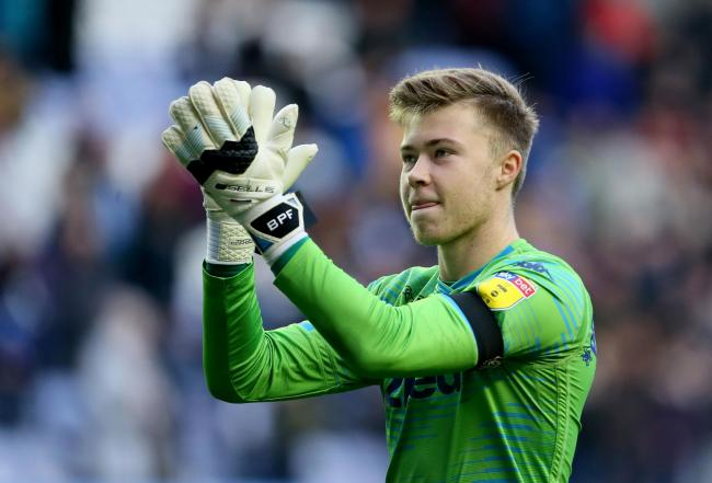 Leeds United goalkeeper Bailey Peacock-Farrell made several saves against QPR but it proved in vain as Leeds bowed out of the FA Cup  Picture: Richard Sellers/PA Wire