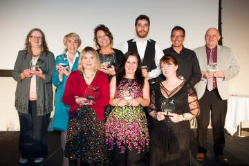 York temps make a mark at awards