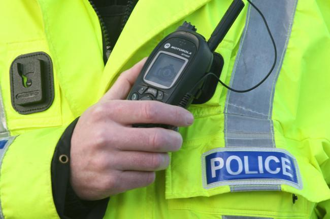 Police are probing an incident in which an 88-year-old man suffered a fractured collar bone