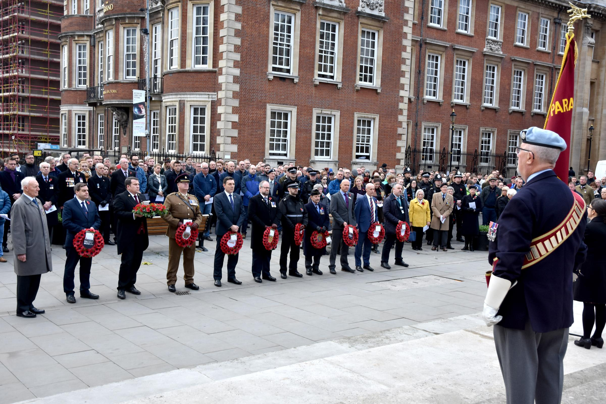 Service in York remembers war heroes of the railways