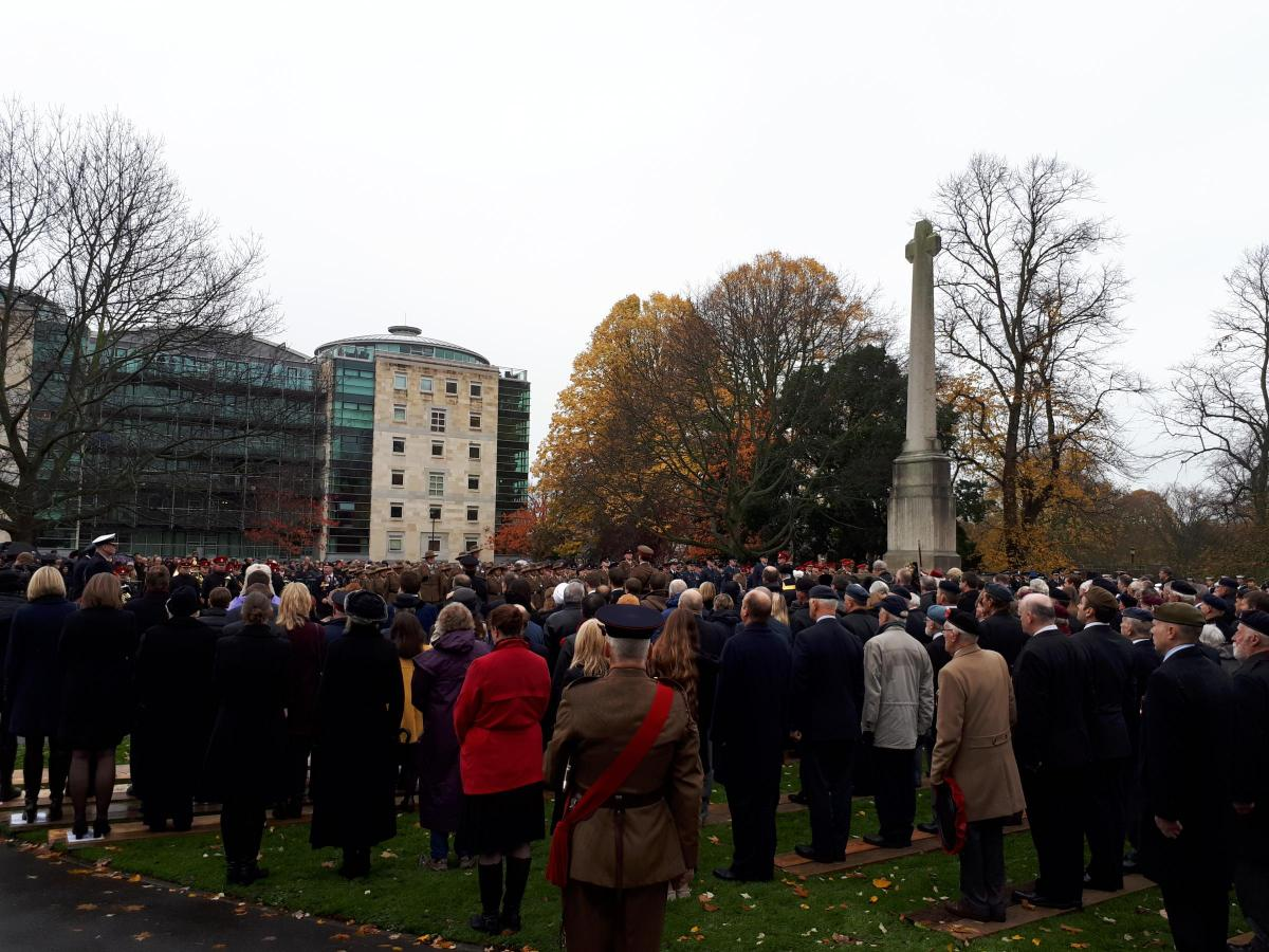 remembrance sunday in york