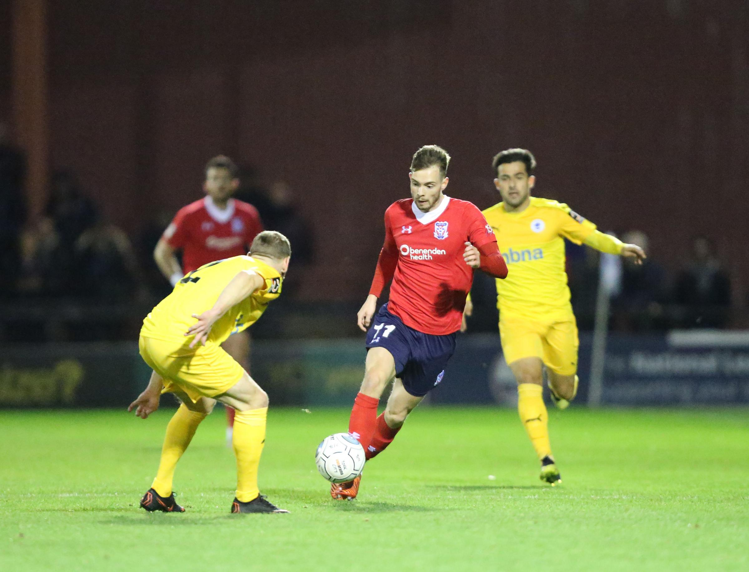 LOOKING FORWARD: Alex Bray is focussed on helping York City climb the National League North table during his loan move from Championship club Rotherham. Picture: Gordon Clayton