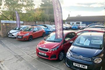 No deposit and 'buy now pay later' offers from Copmanthorpe Motors