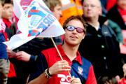 One York City fan was looking at the Wembley action through rose tinted spectacles