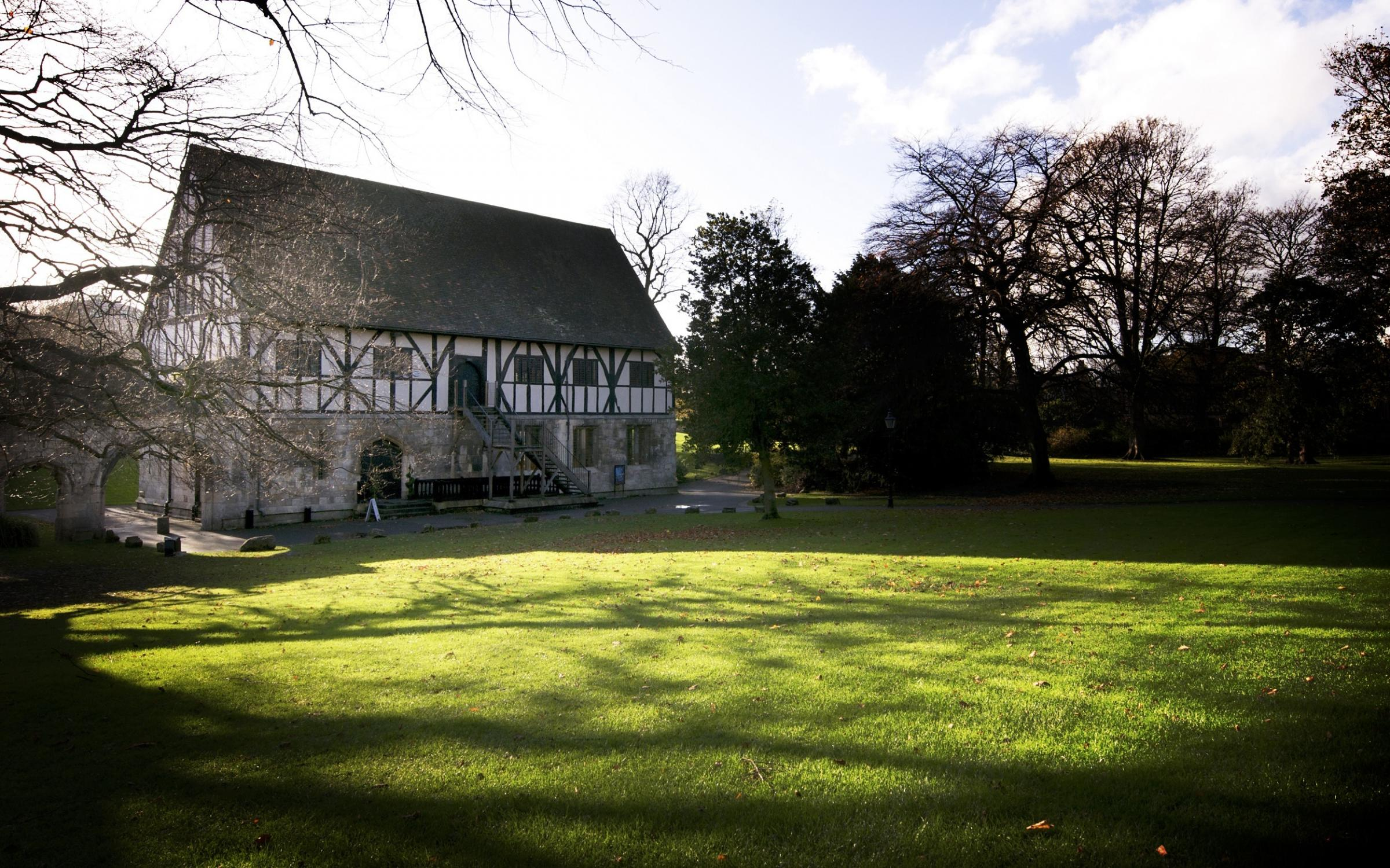 BIG DAY: The Hospitium in York's Museum Gardens has won the Yorkshire Wedding Venue title.