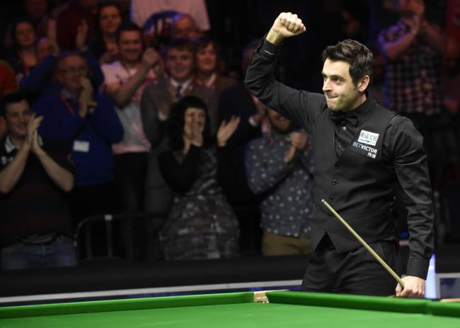 TARGET: Ronnie O'Sullivan who is closing in on 1,000 competitive career century breaks
