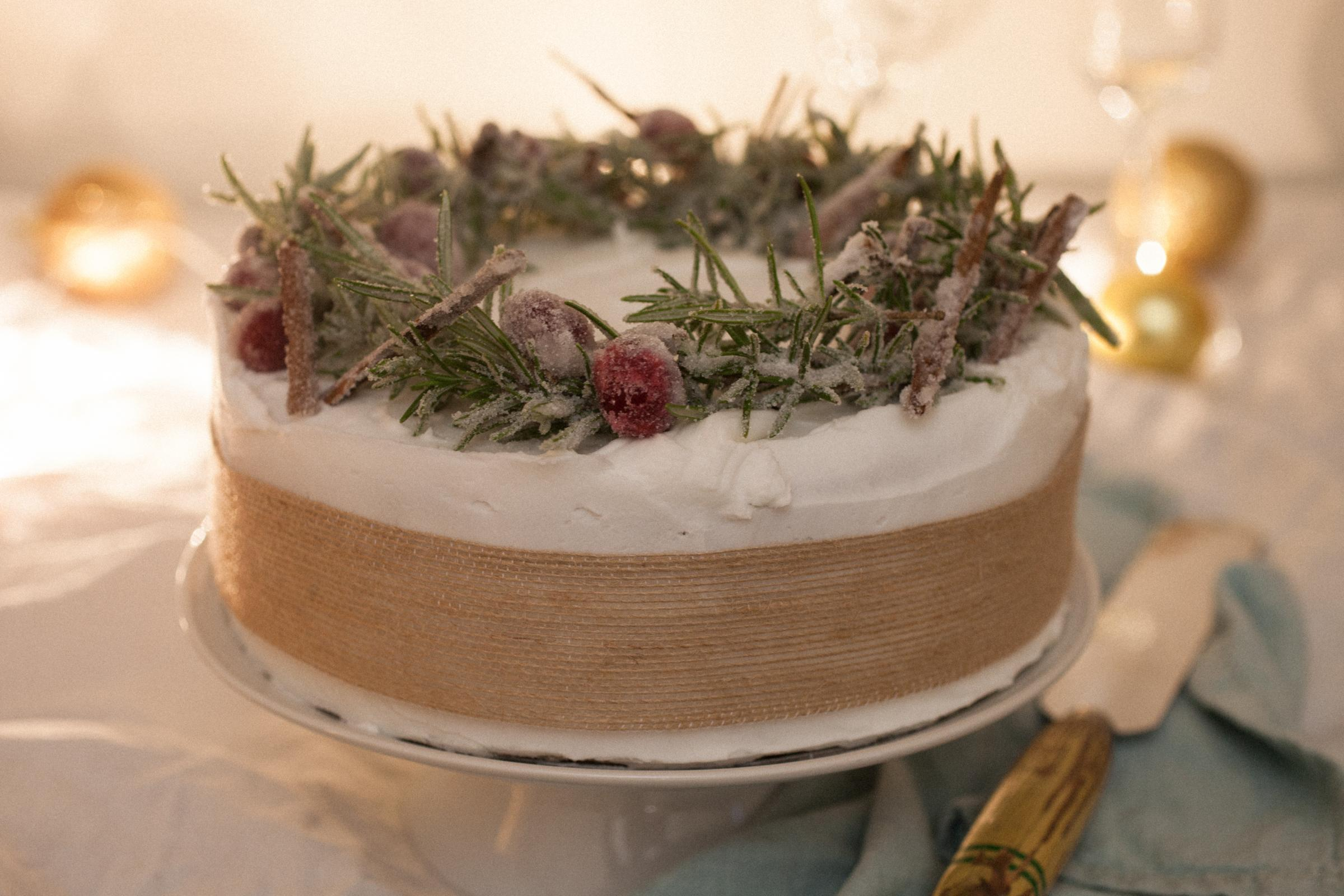 Sophie Smith's Christmas cake