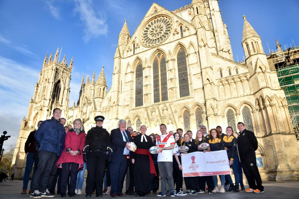 York submits bid to host games in the 2021 Rugby League World Cup
