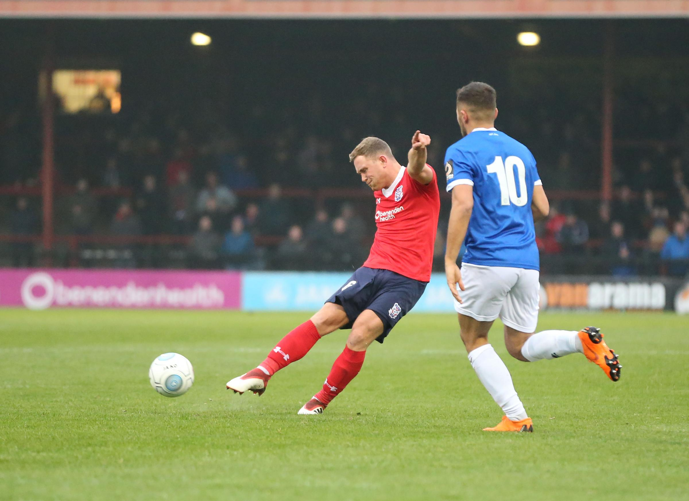 BUGBEAR: A sickness bug, which has claimed Kallum Griffiths as a victim, continues to spread through the York City squad. Picture: Gordon Clayton