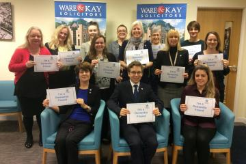 Law firm becomes Dementia Friendly