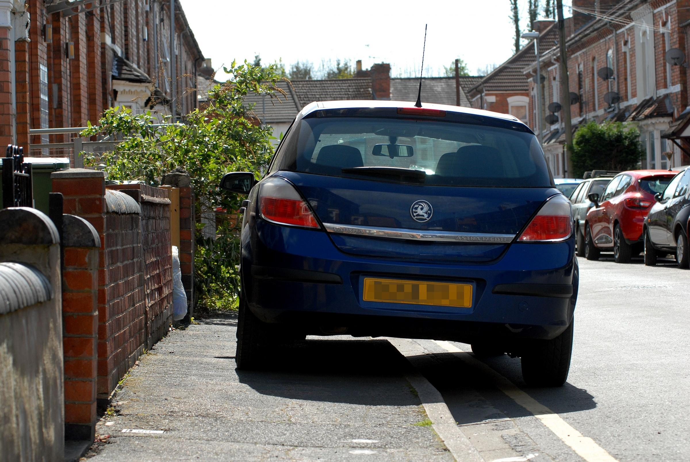 NUISANCE: It's time to end parking on pavements, says Kate Hignett
