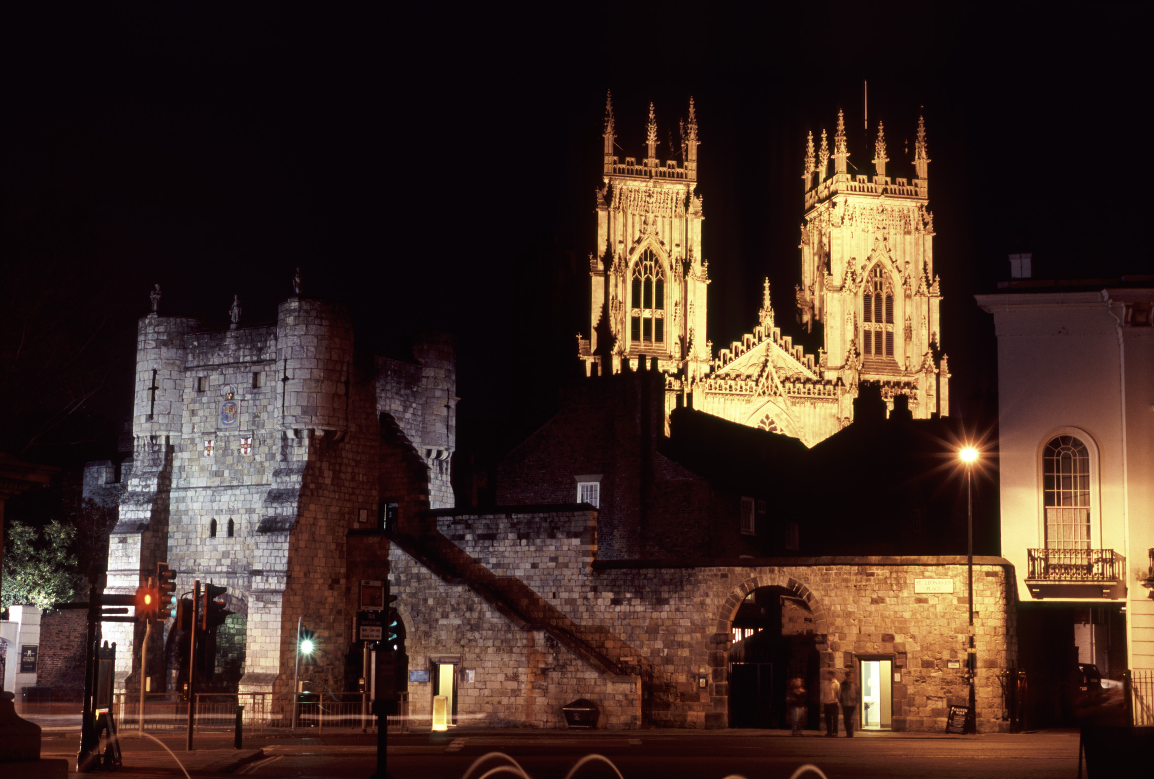 Bootham Bar will be the entrance and exit for the new evening walks along the city walls.