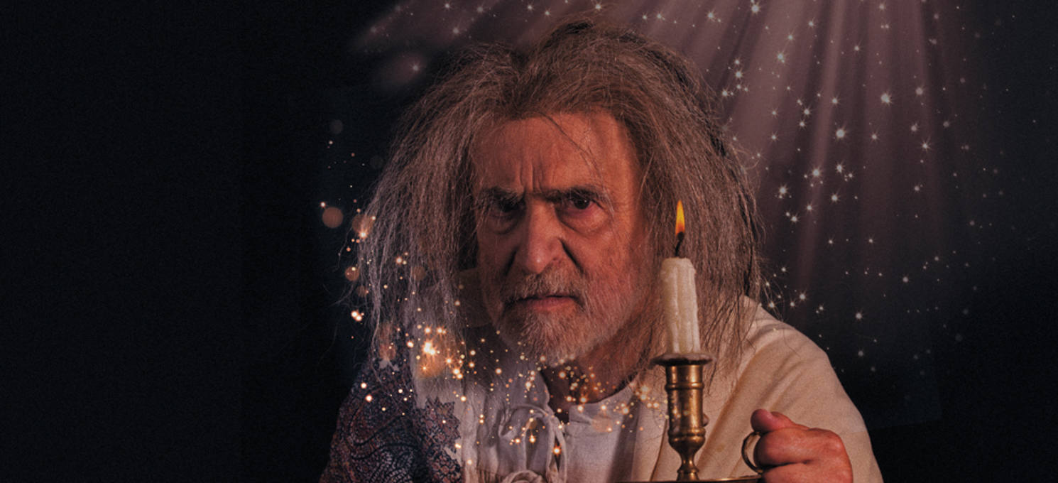 Robert Pickavance as Scrooge in A Christmas Carol at Leeds Playhouse