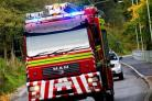 A portable gas heater was destroyed by a fire in Kirkbymoorside