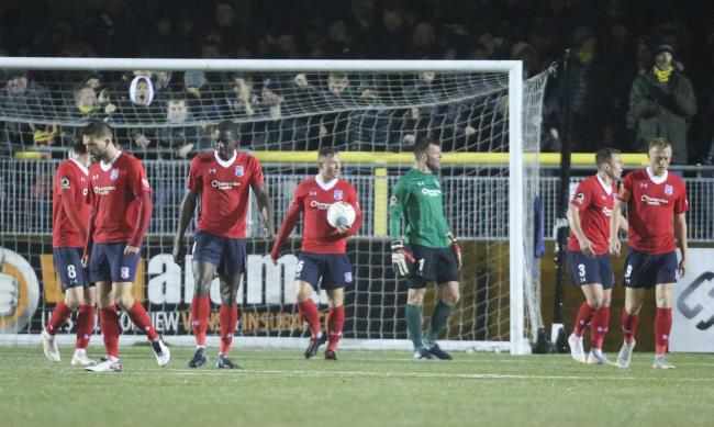 ec66f2a9b KITCHING NIGHTMARES  York City players are left to reflect on Liam  Kitching s winning goal for