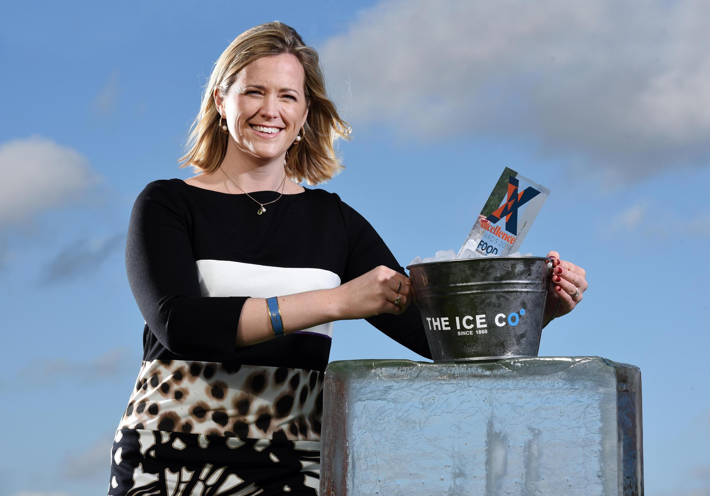 Polly Metcalfe, managing director of The Ice Co