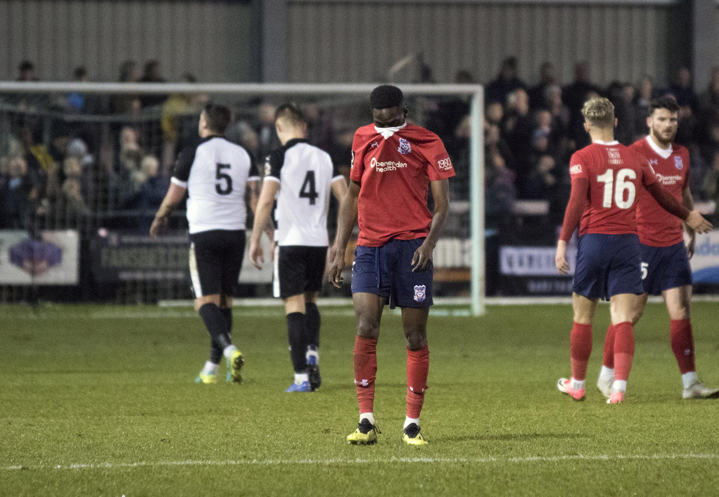 TRAVEL-SICK: York City midfielder Adriano Moke reflects on another away defeat following the 5-1 Boxing Day thumping at Darlington. Picture: Gordon Clayton