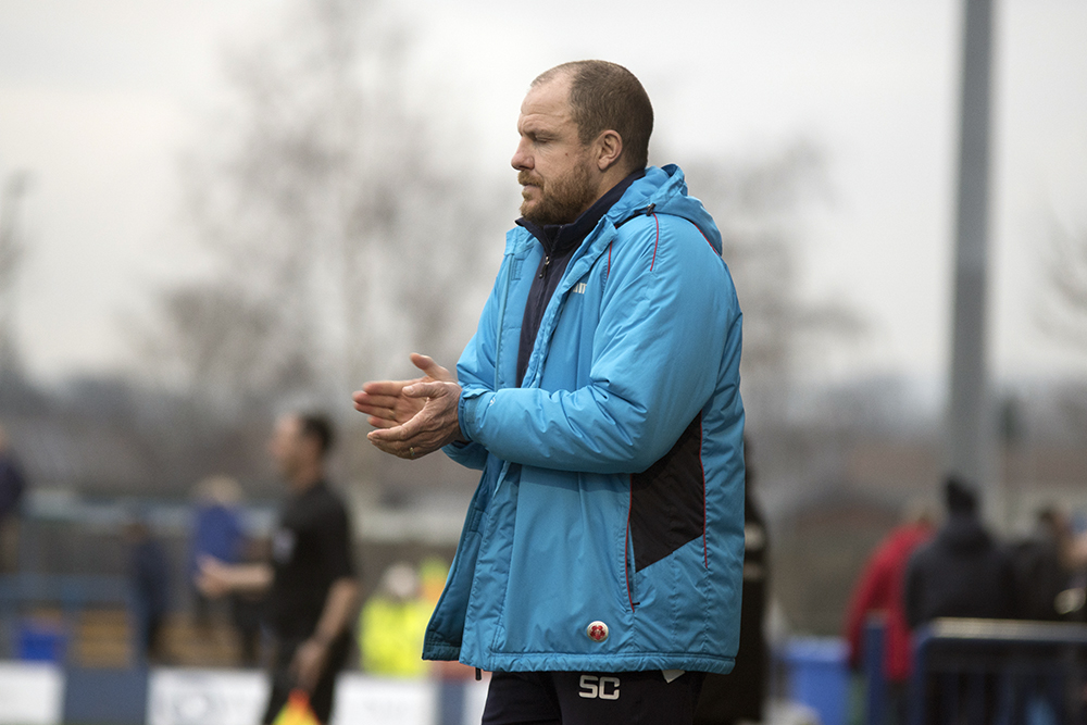 CITY EXIT: Sam Collins has left his position as York City manager following the 1-0 loss at Curzon Ashton. Picture: Ian Parker