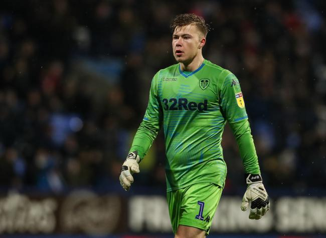 Leeds United's goalkeeper Bailey Peacock-Farrell..Photographer Andrew Kearns/CameraSport..The EFL Sky Bet Championship - Bolton Wanderers v Leeds United - Saturday 15th December 2018 - University of Bolton Stadium - Bolton..World Copyright Â&cop