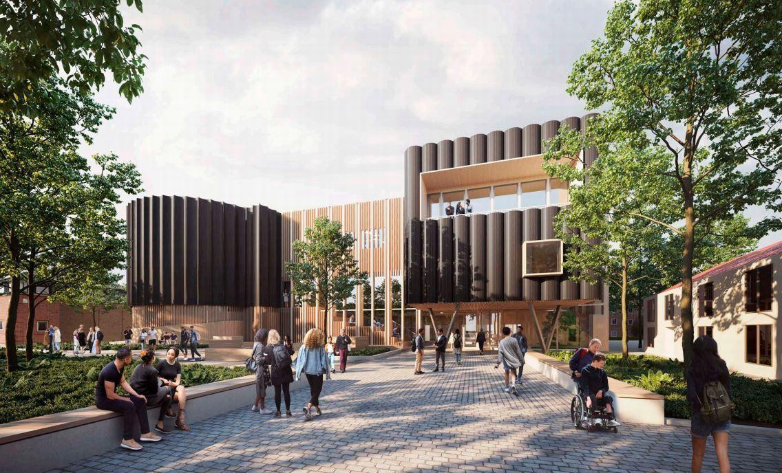 York St John University's new plans for creative centre