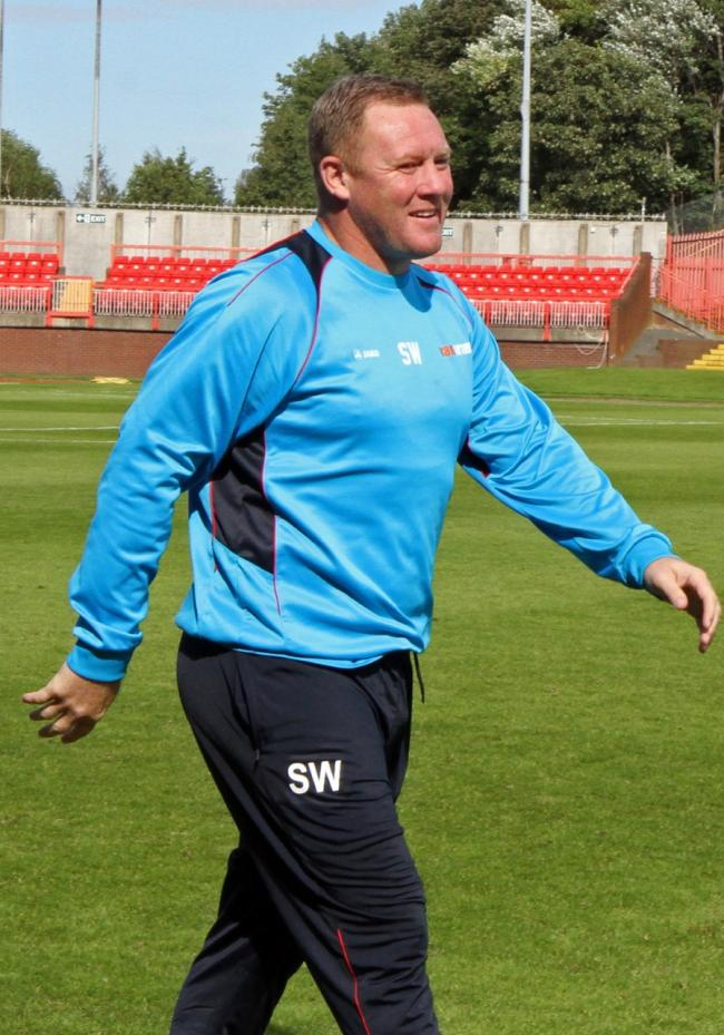 DEMANDING: York City boss Steve Watson will be applying more pressure on his squad than can be exerted by their title favourites' tag