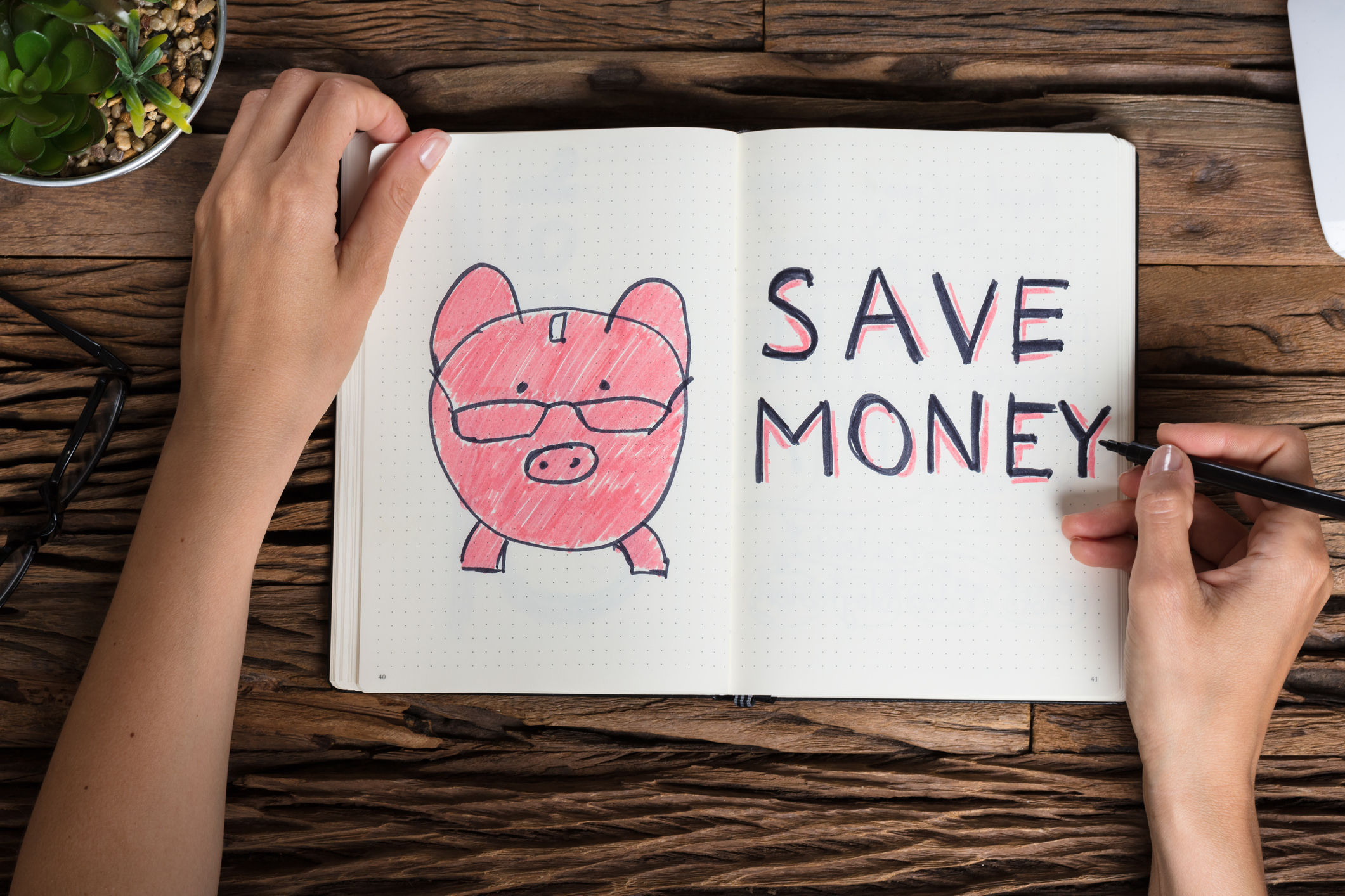 PLEDGE FOR 2019: One of Maxine's resolutions – or revelations – is to save money this year