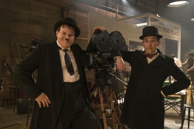 John C Reilly's Hardy and Steve Coogan's Laurel in Stan & Ollie