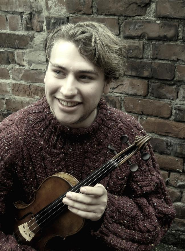 Jacob George: soloist at Saturday's Academy of St Olave's concert