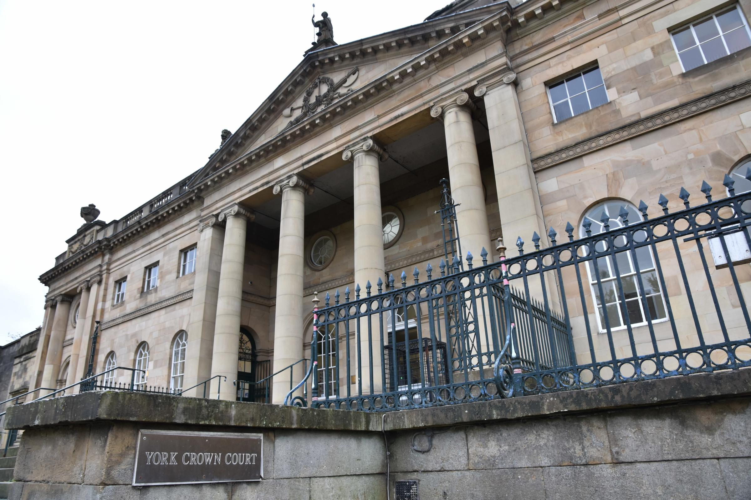 TRIAL COLL-APSE:The hearing was at  York Crown Court